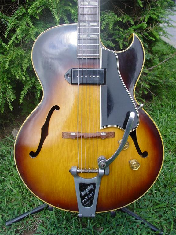 Vintage 1957 Bigsby Vibrato Tremolo from a 1957 Gibson ES-175