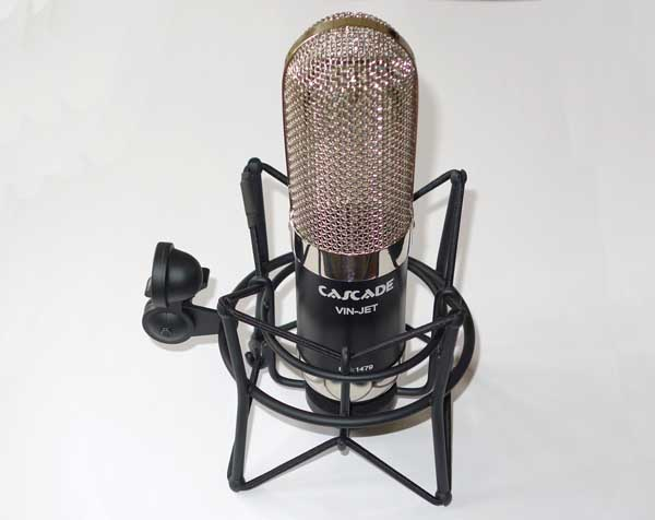 NEW Cascade Vin-Jet Ribbon Mic, Factory Upgraded w/AMI TR42 Transformer by Oliver Archut w/Flight Case, Figure 8 Pattern