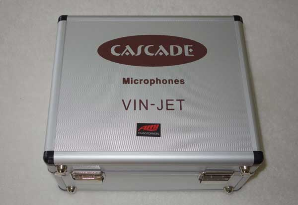 Cascade Vin Jet Ribbon Mic Factory Upgraded w/AMI TR42 Transformer by Oliver Archut w/Flight Case, Figure 8 Pattern