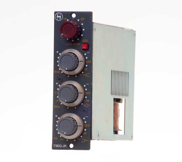 NEW Heritage Audio '73EQ JR 3-Band, Neve 1073-Replica EQ for 500-Series Racks, API 1608 Consoles