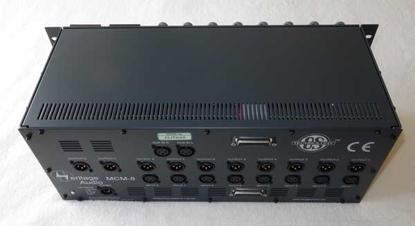 Heritage Audio MCM-8, Music Compact 10-Channel Mixer w/8-Slots OST 500-Series Modules