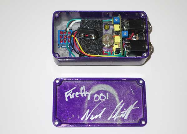 NOC3 Effects FireFly Serial #001 OD Overdrive Distortion Pedal for Electric Guitars Signed by Colquitt