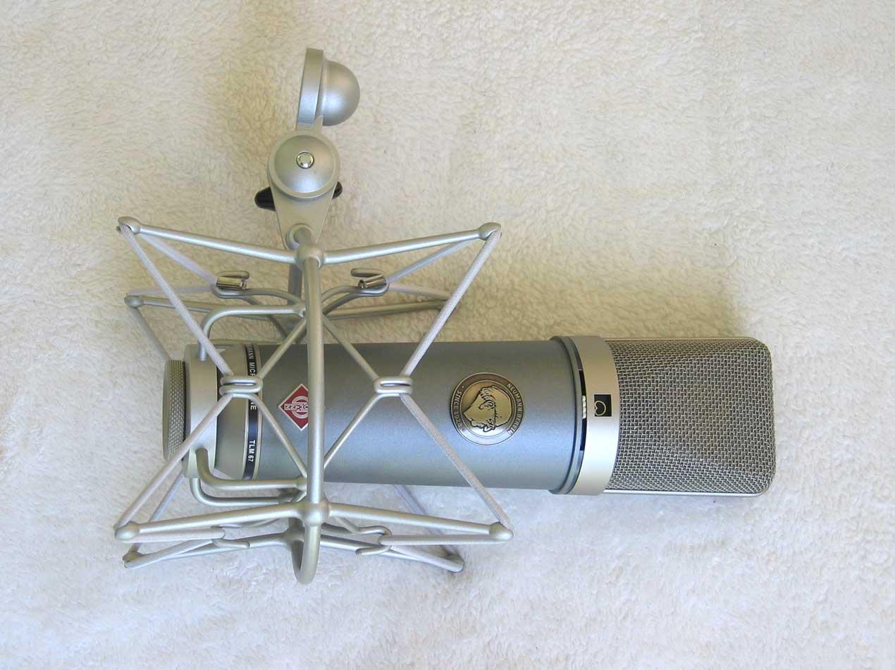 NEW Neumann EA-87 Shock Mount for U87Ai, TLM67, and U67/87 mics, 2020 Nickel